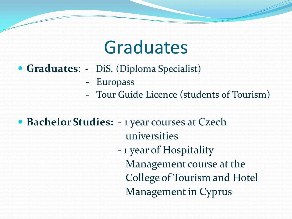 Graduates Graduates: - DiS.