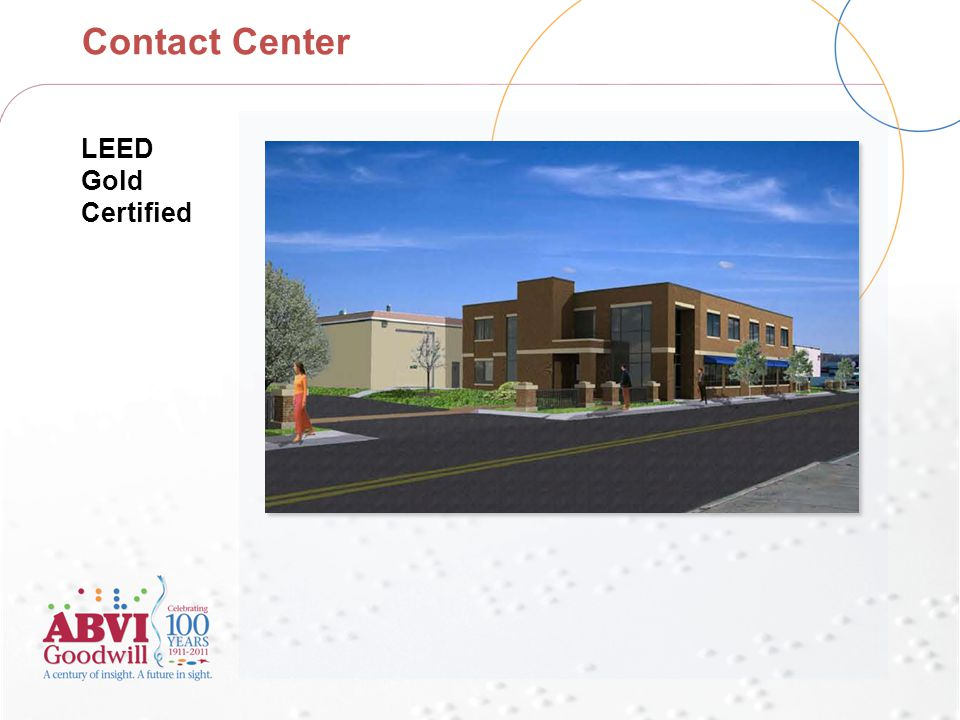 Contact Center LEED Gold Certified
