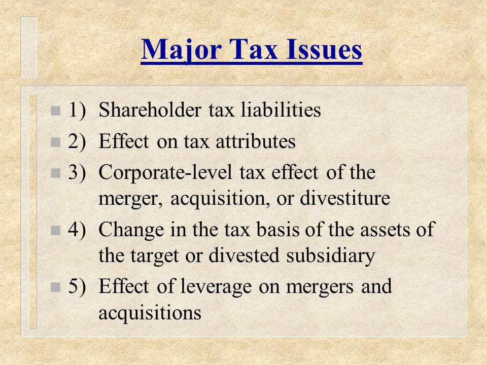 Structures Employed in Acquisitions of Freestanding C Corps and Tax Implications