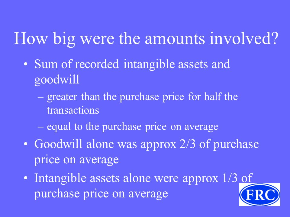 How big were the amounts involved.