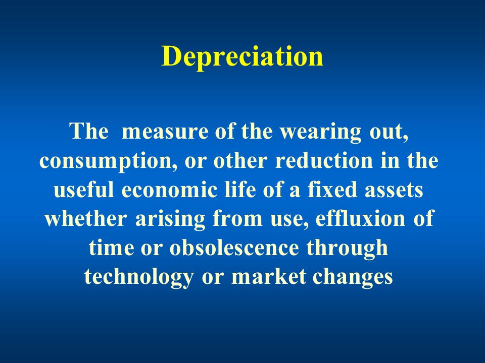 Depreciation Value Time Revenues Costs Economic life