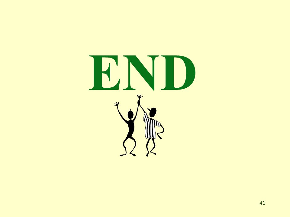 41 END