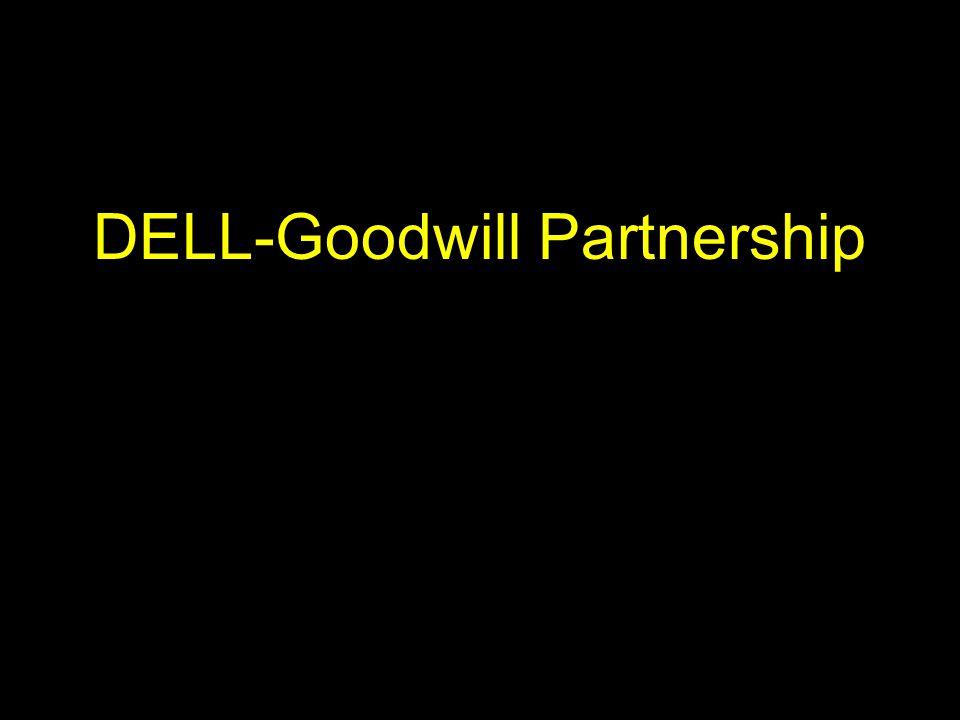 DELL-Goodwill Partnership