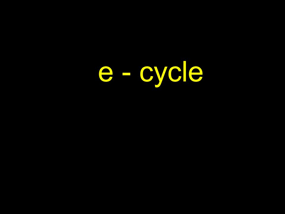 e – cycle collection, processing, sale, reuse or recycling of electronics