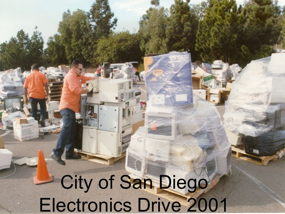 City of San Diego Electronics Drive 2001