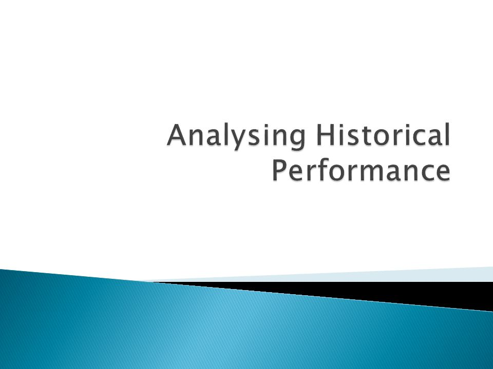  Reorganise the financial statements to reflect economic, instead of accounting, performance.
