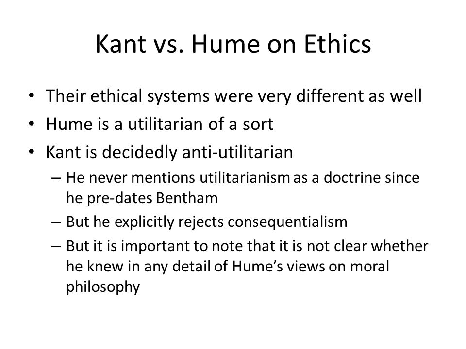 racism in philosophy of hume and kant essay