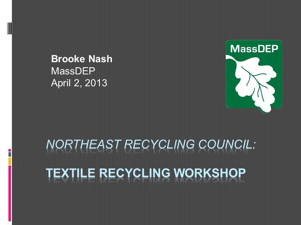 Brooke Nash MassDEP April 2, 2013