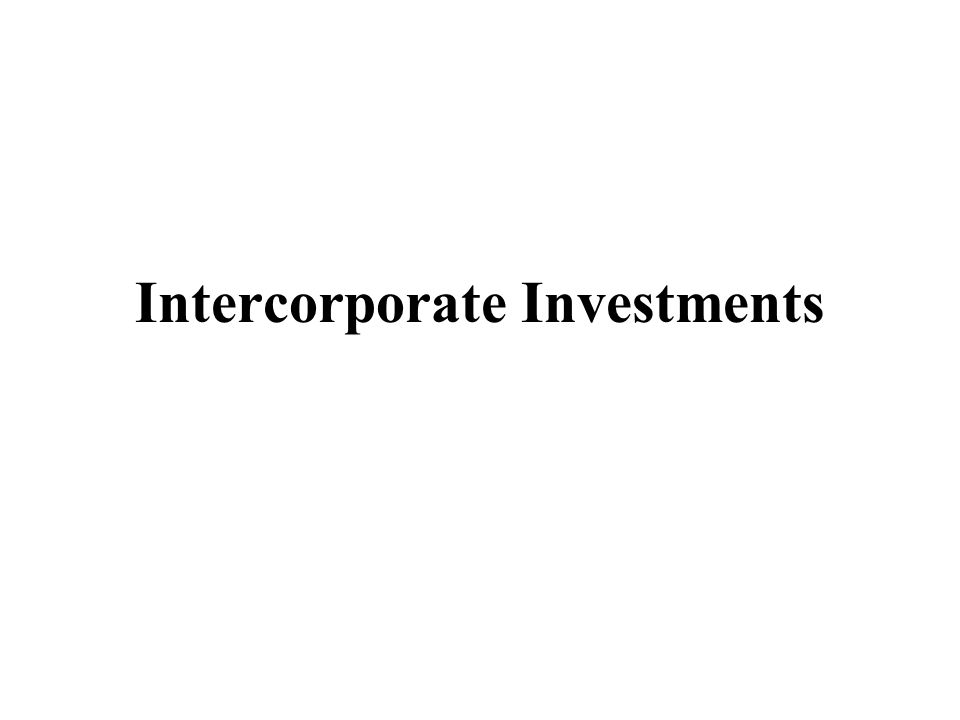 When company earns money, increase investment by your share of their earnings Equity Investments5 Equity Income5