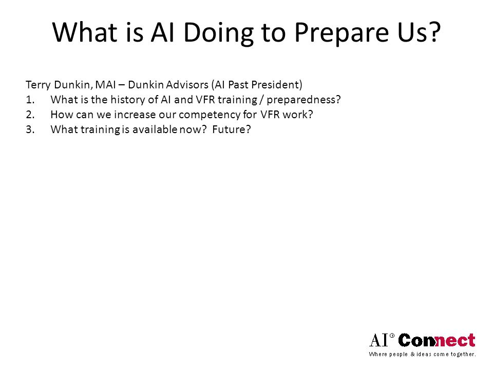 What is AI Doing to Prepare Us.