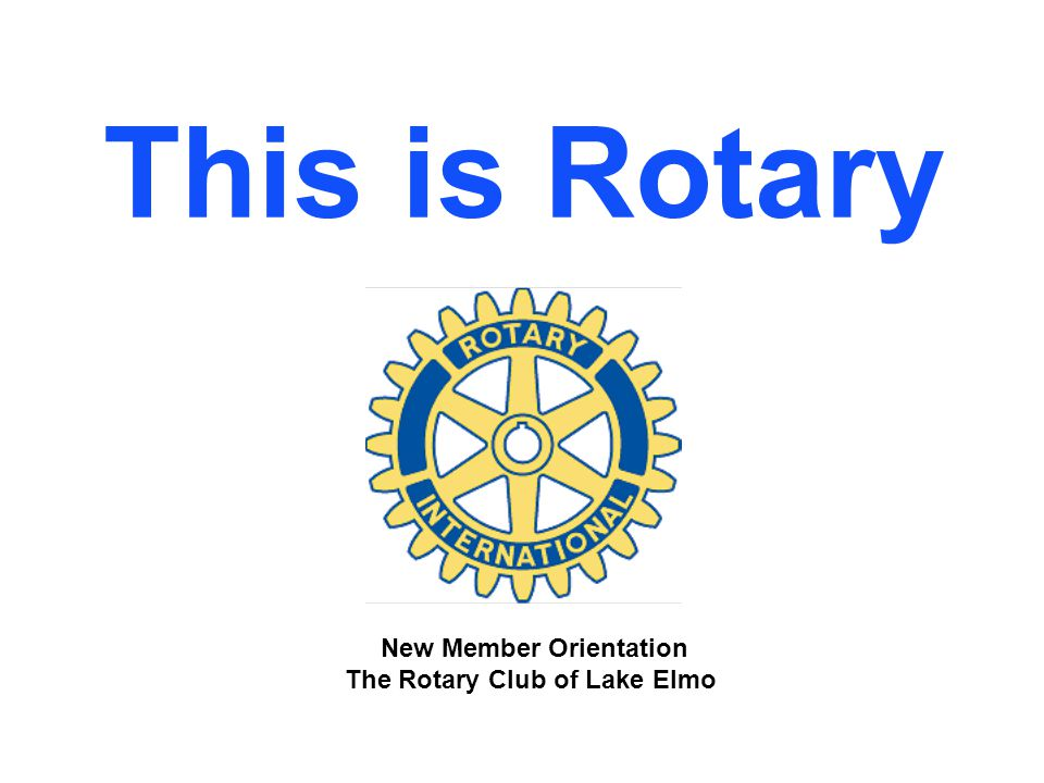 Membership There are two types of membership in a Rotary club: u Active Rotarian: an adult of good character and good business or professional reputation, who holds or has held an executive position with discretionary authority in any worthy and recognized business or profession.