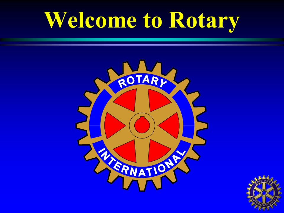 Rotary International District 6400 Dave Carpenter 2006 - 07 District Governor,