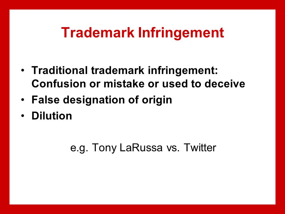 Emerging Issues Global protection of intellectual property Ownership of real time information and player statistics