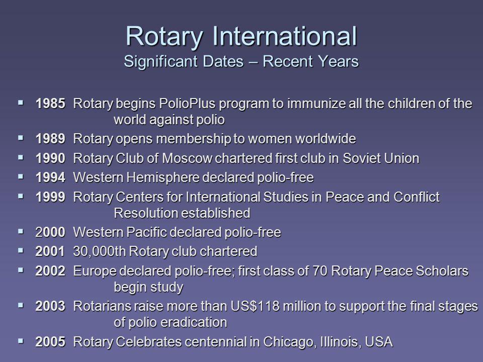 The Rotary Club of Lexington, Kentucky