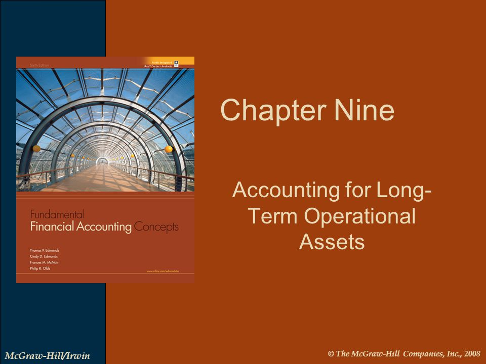 9-2 LO 1 Identify different types of long-term operational assets. LO 1