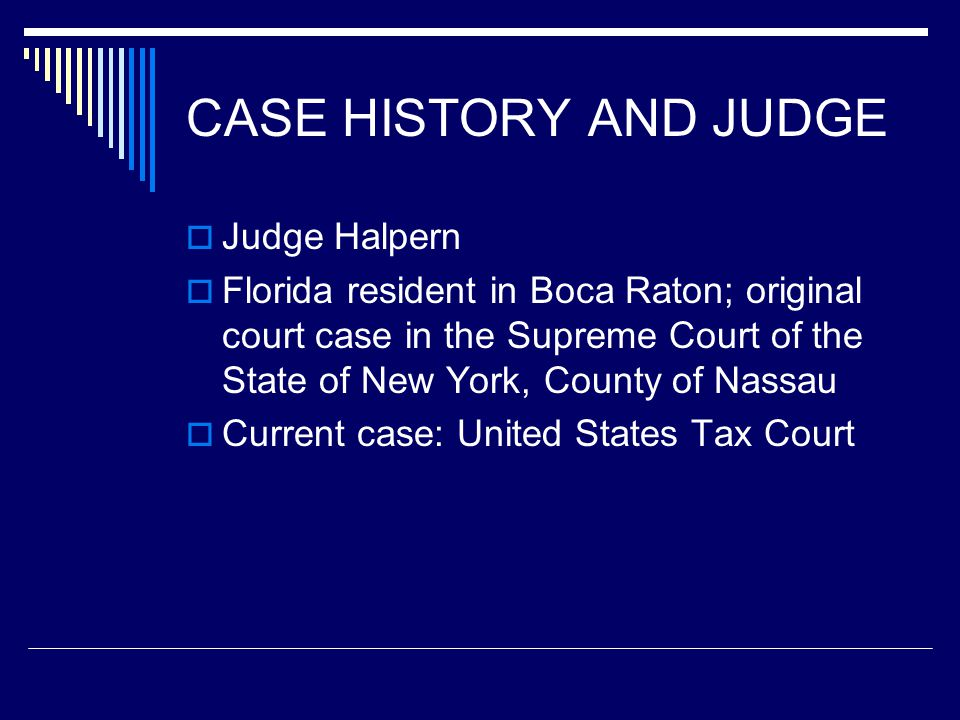 FACTS  Milton Tomach was a senior partner in a law partnership, Hayt, Hayt, Tomach & Landau.