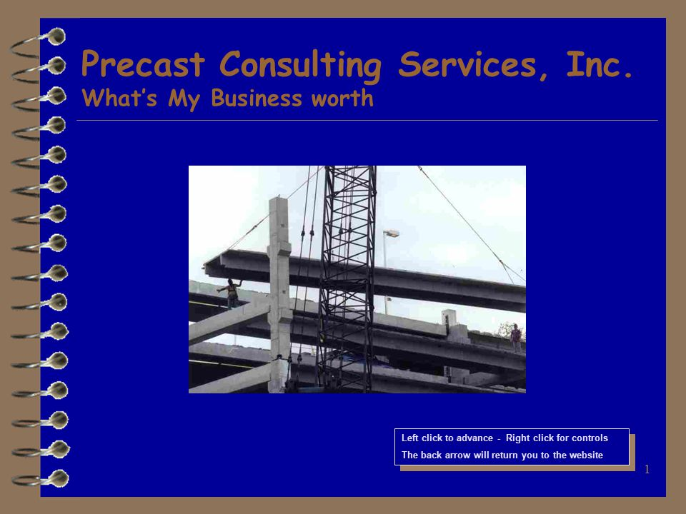 1 Precast Consulting Services, Inc.