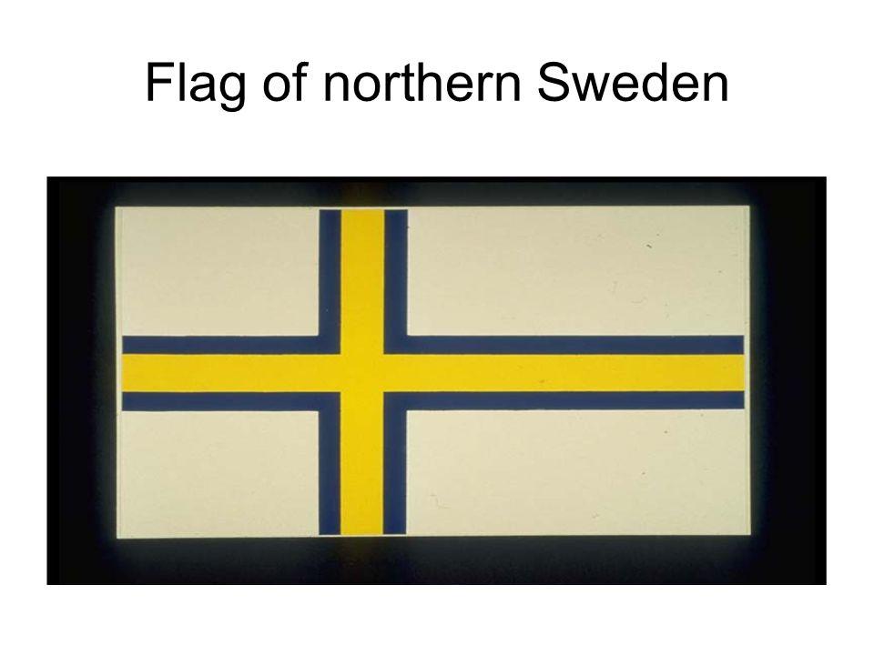 Flag of northern Sweden