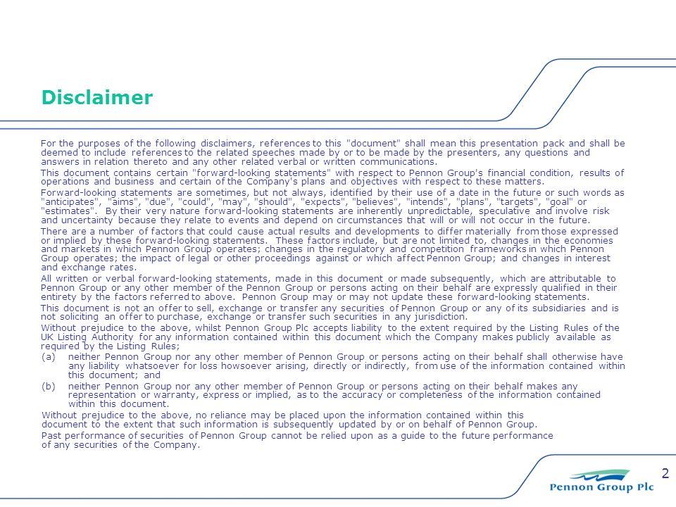 13 Tony Hooper Group Treasurer & Taxation Manager Pennon Group