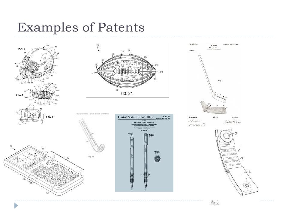 Examples of Patents