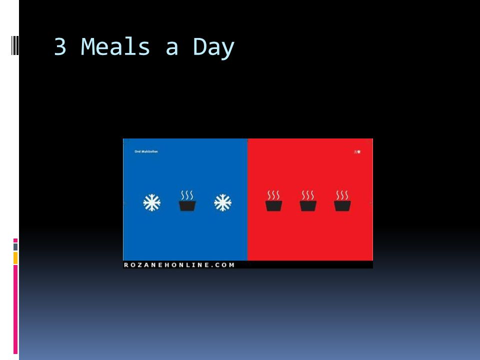 3 Meals a Day