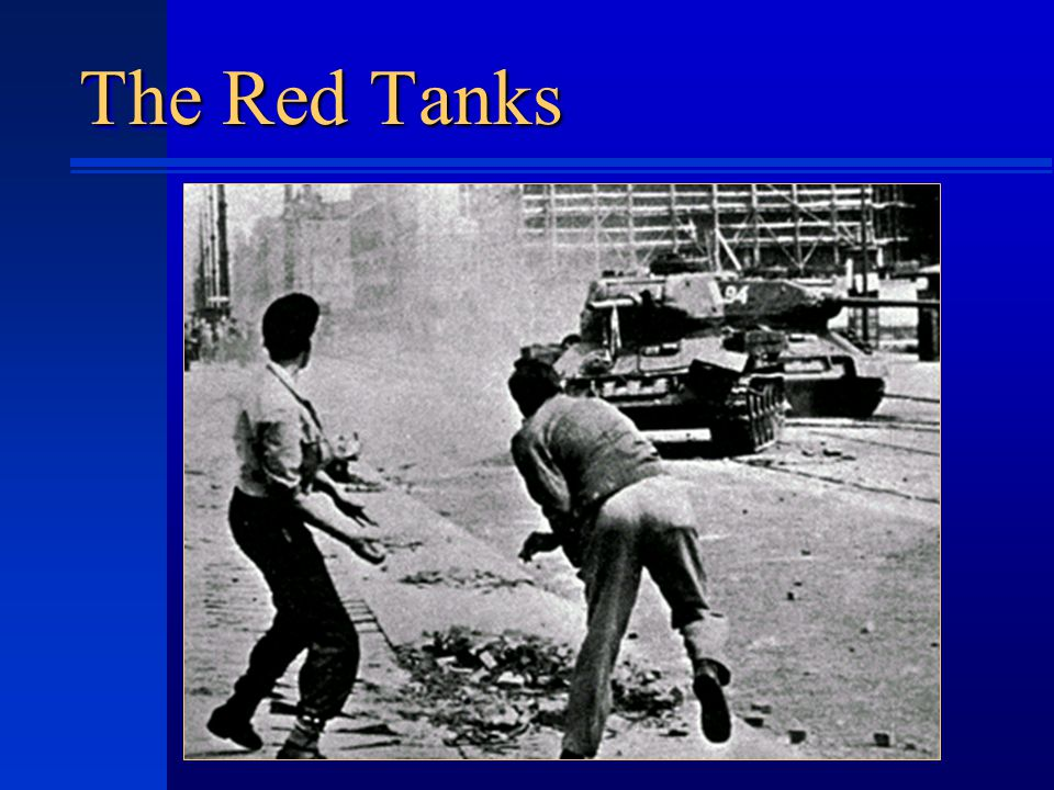 The Red Tanks