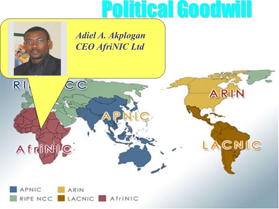 6 IPv6 Forum Adiel A. Akplogan CEO AfriNIC Ltd