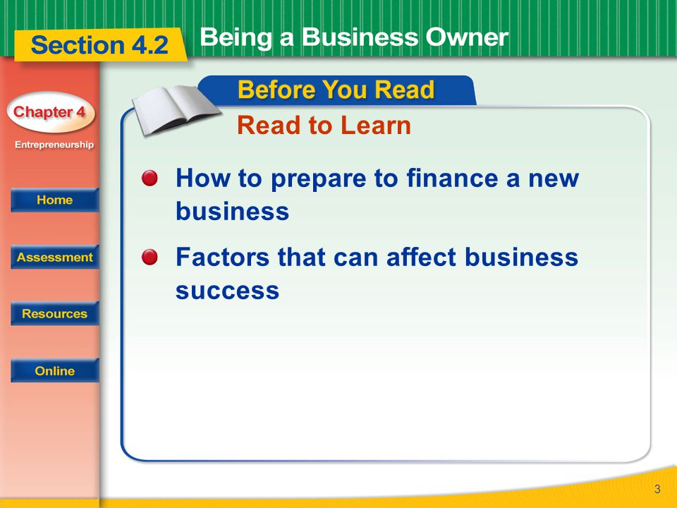 14 Buying an Existing Business When buying an existing business, you may be able to keep the existing lease.
