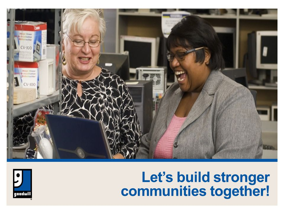 Let's build stronger communities together!