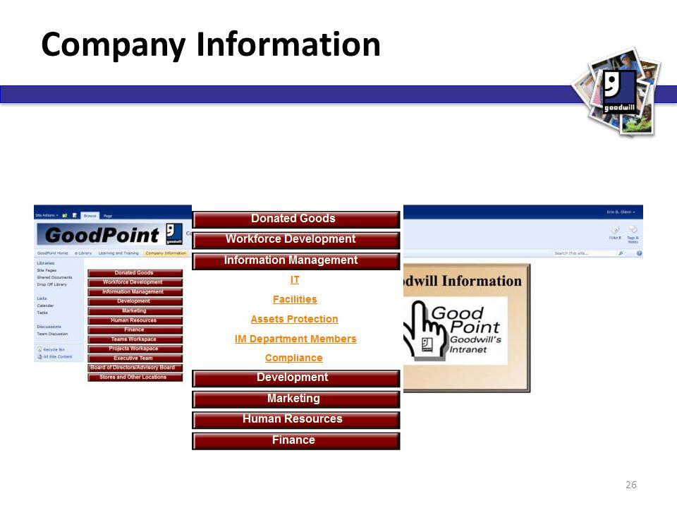 Company Information 26