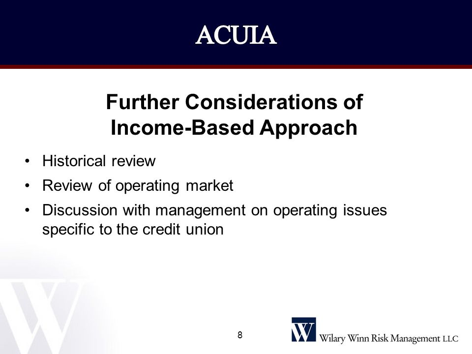 Available Resources Wilary Winn Risk Management Accounting White Paper and a companion Frequently Asked Questions 39