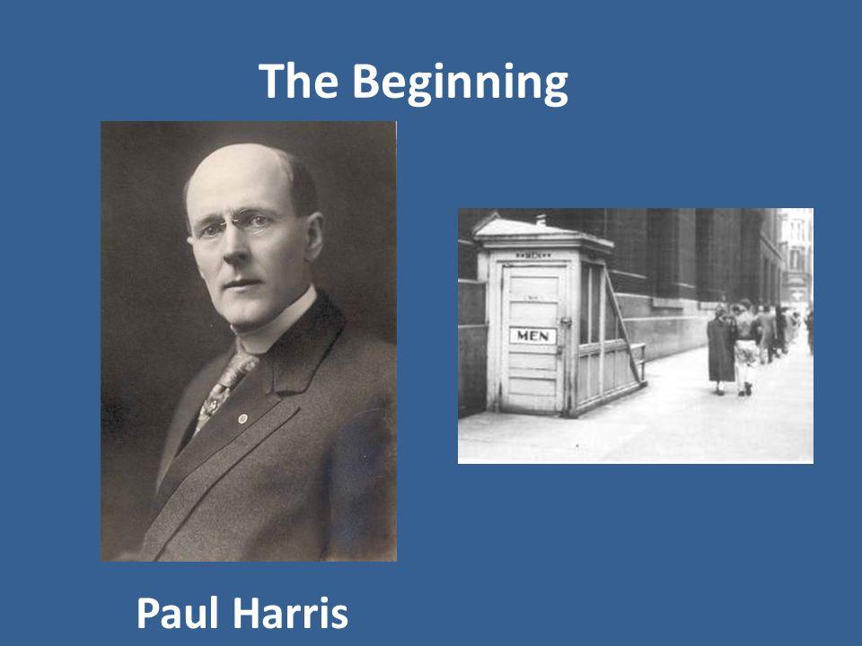 The Beginning Paul Harris
