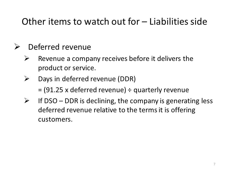  Accrued liabilities  Or, other current liabilities , or other liabilities  Reserves are often lumped into these categories.