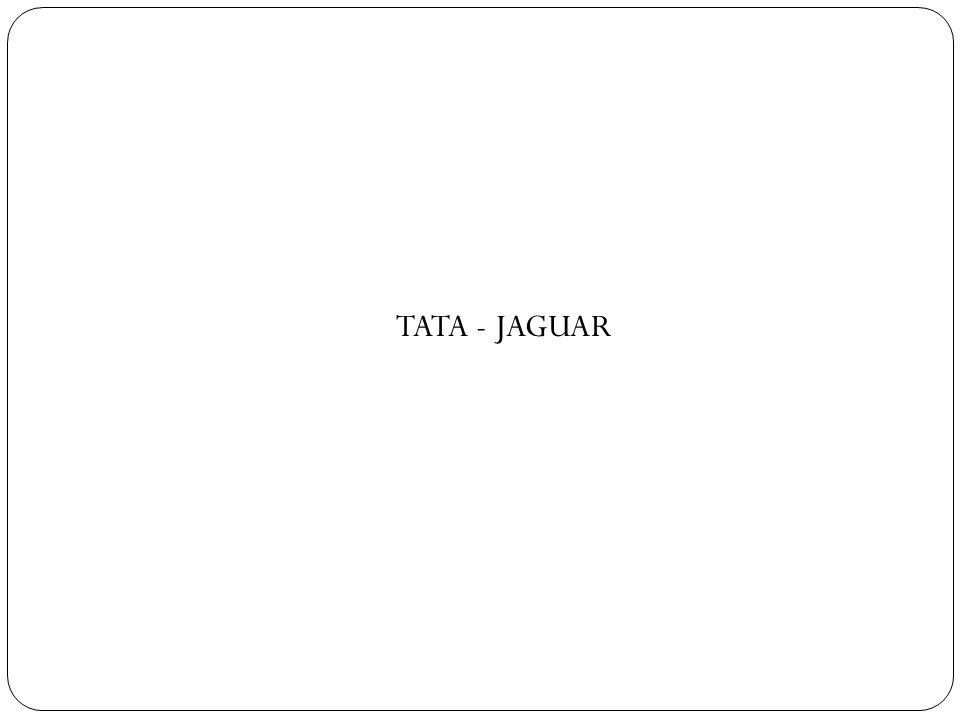 TATA - JAGUAR