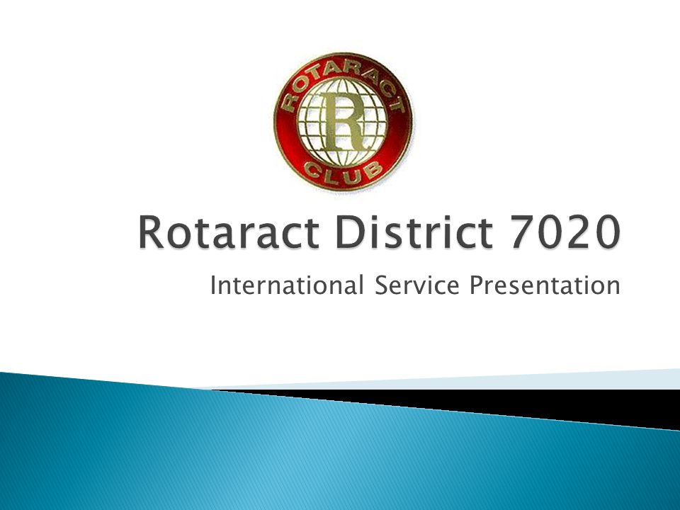  An arm of Rotary International that promotes The Rotary Foundation, increase understanding and goodwill among people of different nations with a view to improving the quality of their life