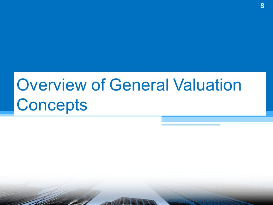 Uses of Valuation BUSINESS Acquisitions Joint Ventures Other Arrangements Compensation Arrangements Internal Business Planning COMPLIANCE Stark Anti-Kickback Private Benefit Inurement Others FINANCIAL REPORTING Purchase Price Allocation Specific Assets & Liabilities Share-based Compensation Fair Value TAX REPORTING Purchase Price Allocation Charitable Contributions Section 409A Professional vs.