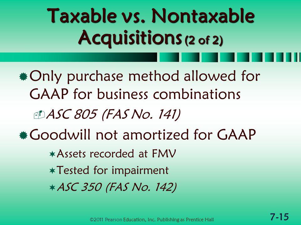 7-15 Taxable vs.