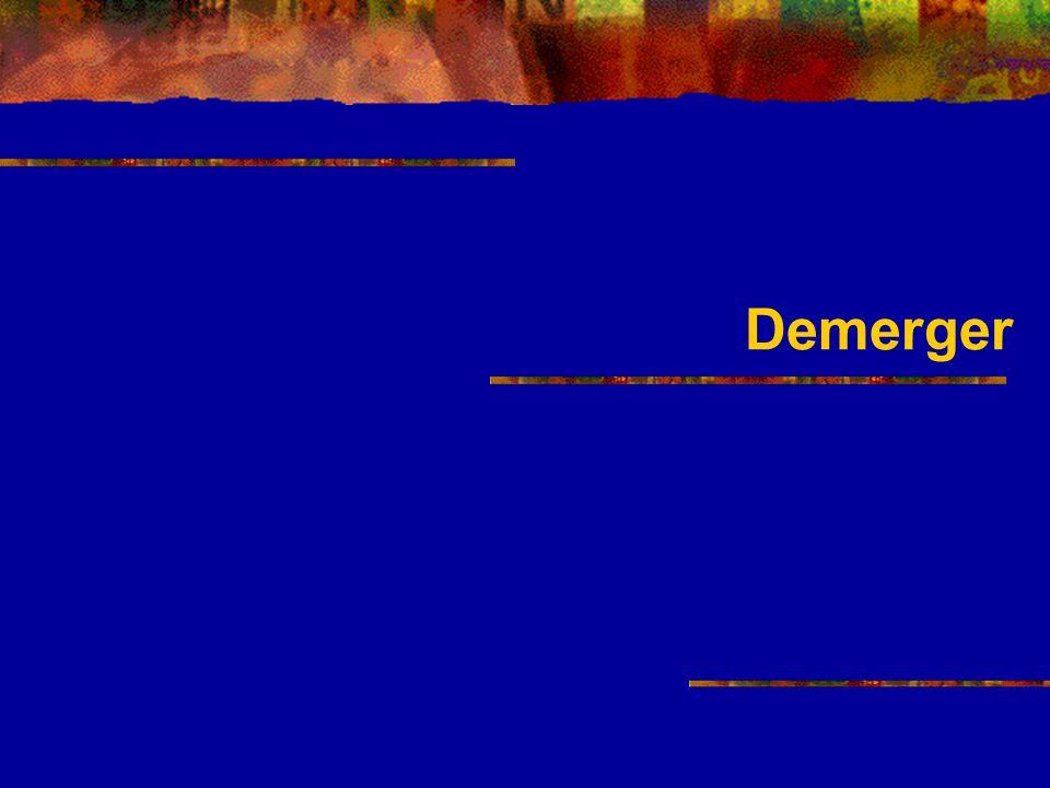 Demerger
