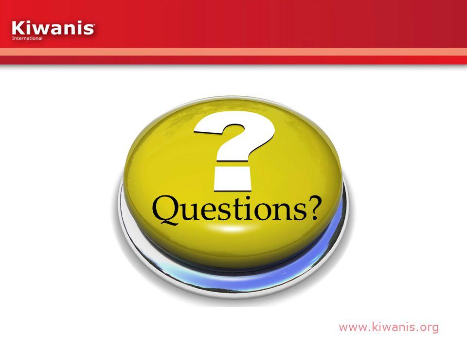 www.kiwanis.org Questions?