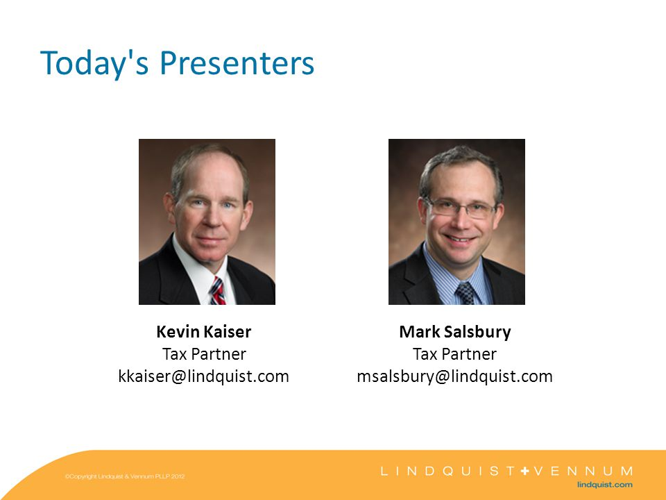 Agenda M&A Tax Considerations Overview Corporate Structuring Alternatives and Considerations Partnership (LLC) Structuring Alternatives and Considerations Deal Elements and Reporting Q&A