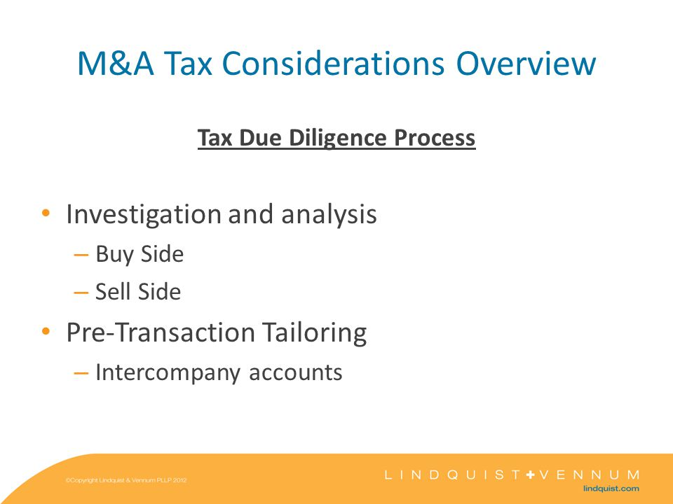 Corporate Structuring and Considerations P S T Forward Triangular Merger T merges into S; S survives Shareholders Purchase Price Newco PT Assets Purchase Price T Assets S Shareholders Purchase Price Regular Asset Purchase Caution: S will succeed to T's corporate-level tax liability from the deemed sale of assets.