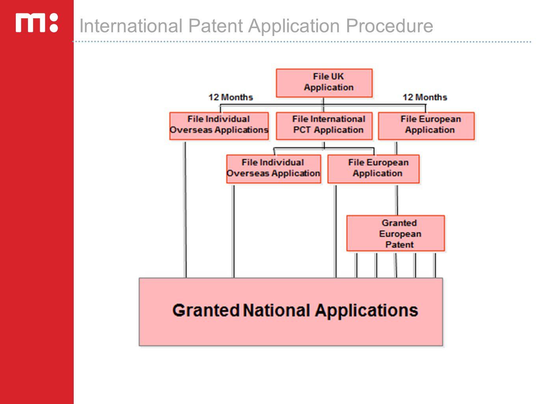 International Patent Application Procedure