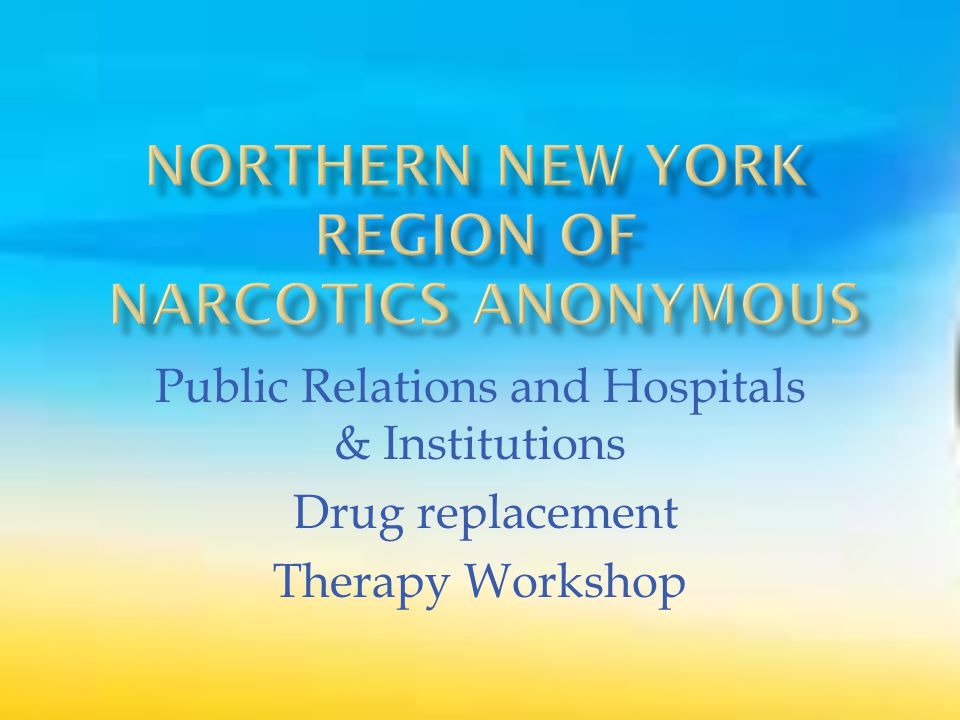 A VISION FOR NA SERVICE All of the efforts of Narcotics Anonymous are inspired by the primary purpose of the groups we serve.