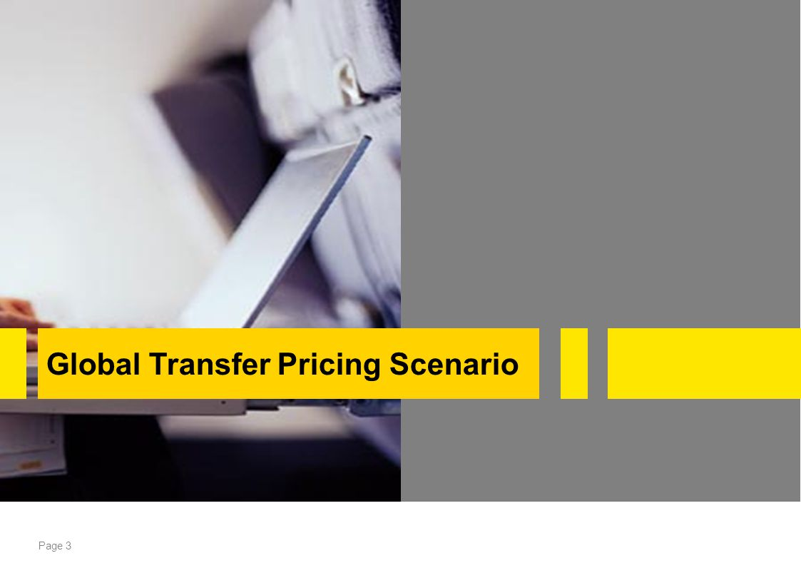 Page 3 Global Transfer Pricing Scenario