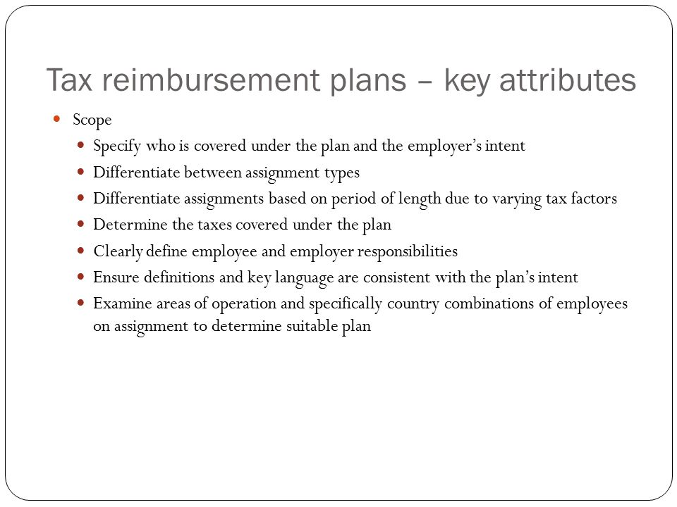 Tax reimbursement plans – Administrative matters For each tax year of the assignment, payroll should maintain the following forms, with appropriate exemptions and exclusions, when operating both tax protection and tax equalization arrangements Form 673 Statement for Claiming Exemption From Withholding on Foreign Earned Income and Eligible for the Exclusion(s) Provided by Section 911 Form W-4 updated with exempt status if the employee is not subject to US tax withholding because he is subject to foreign tax withholding and is not expected to have residual US Federal tax obligations.
