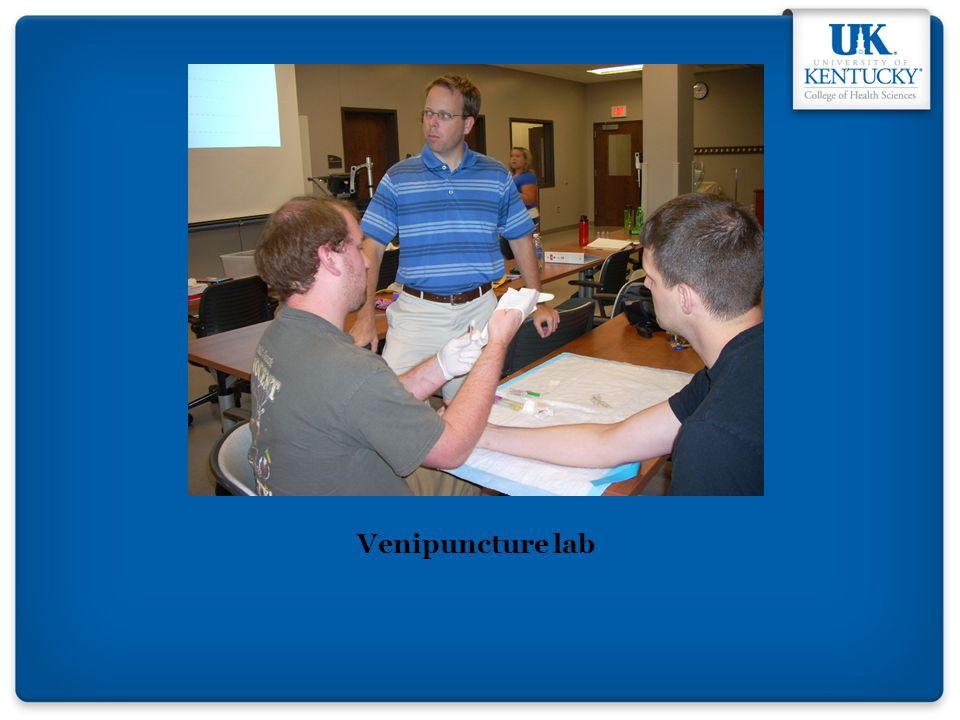 Venipuncture lab