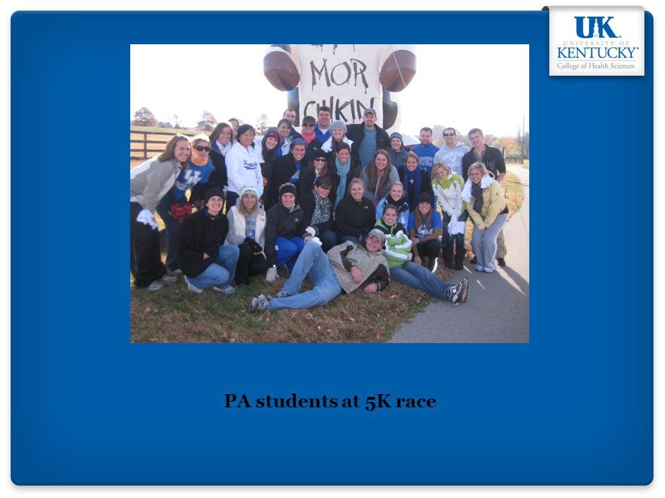 PA students at 5K race