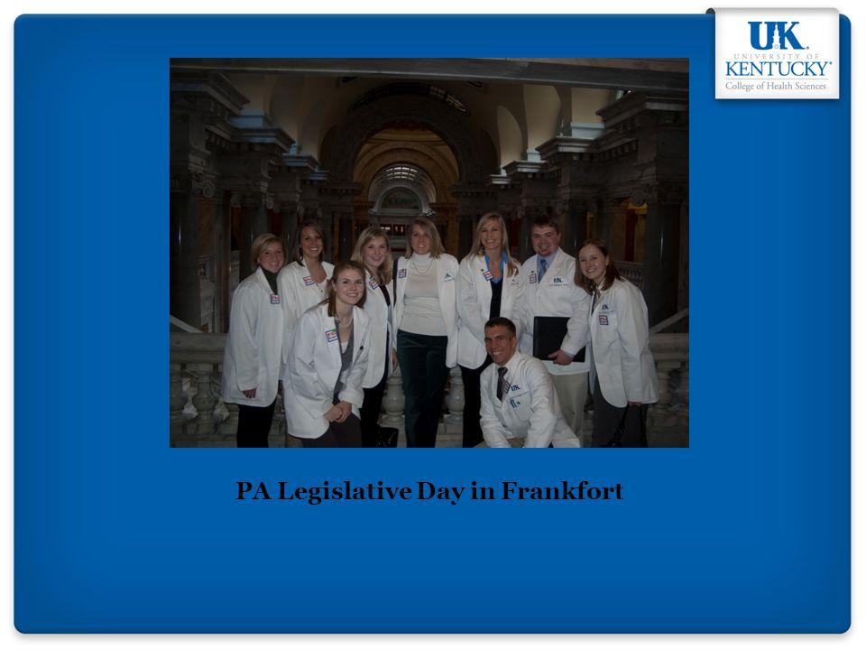 PA Legislative Day in Frankfort
