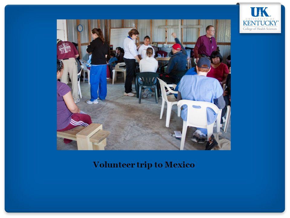 Volunteer trip to Mexico