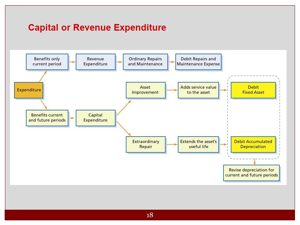 18 Capital or Revenue Expenditure